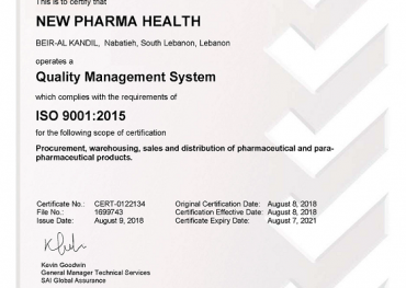 Events – New Pharma Health